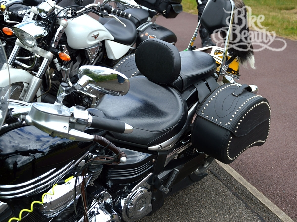 Top quality Rider Driver Backrest Yamaha XV1900 Midnight Star//Roadliner//Stratoliner