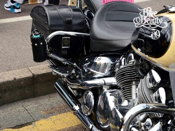 yamaha royal star xvz1300 sturzb gel hinten satteltasche. Black Bedroom Furniture Sets. Home Design Ideas