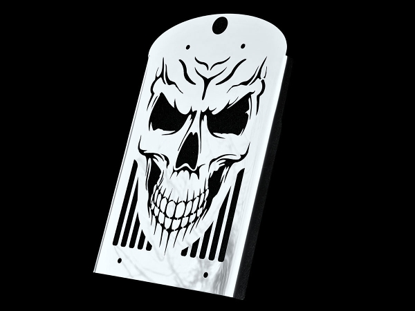 KAWASAKI VN1600 CLASSIC NOMAD MEAN ST SKULL STAINLESS ...