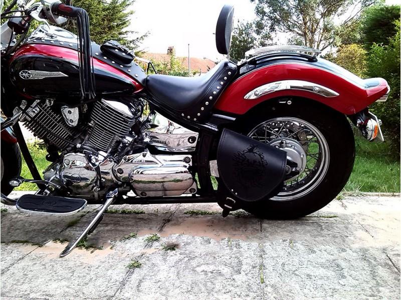 Harley Davidson Covers >> Driver Rider Backrest Yamaha Dragstar & V star XVS 650 A CLASSIC