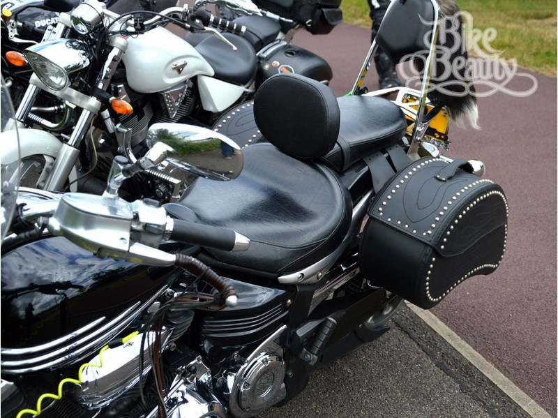 Top quality Rider Driver Backrest Yamaha XV1900 Midnight Star//Roadliner//Stratoliner