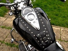 HONDA  VTX 1300 LEATHER TANK PANEL