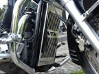 HONDA VTX 1300 RETRO, CUSTOM STAINLESS STEEL RADIATOR GRILL GUARD COVER