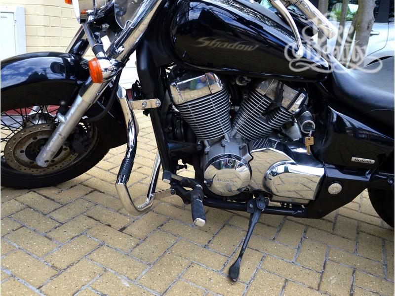 Honda Shadow Vt 750 C C2b C4 Rc50 Rc53 Spirit Aero Crash Bar Engine