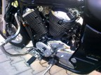 Honda Shadow VT 750 C2, RC 44 Engine Guard with Built In Foot Pegs