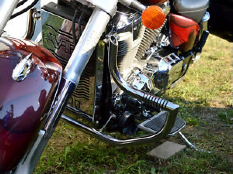 What Material Are Harley Davidson Motorcycle Crash Bars Made Of