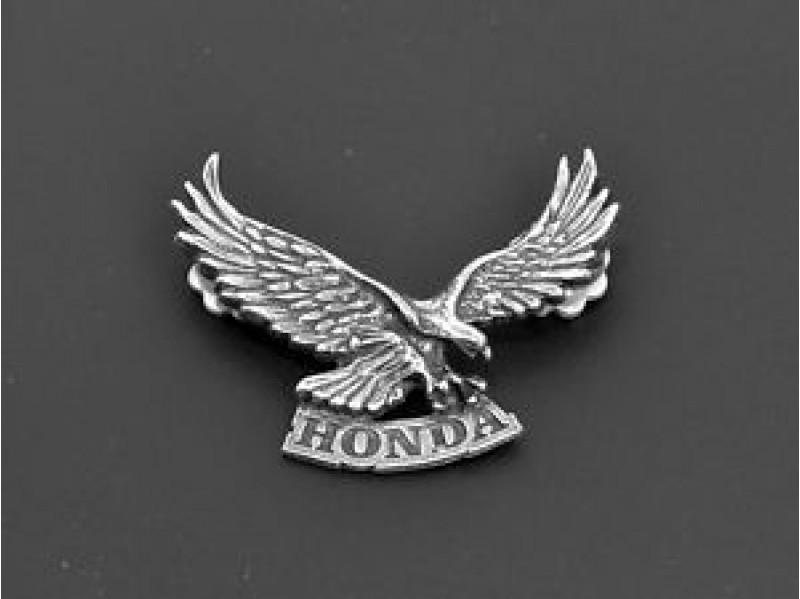 Honda Eagle Motorcycle Metal Badge