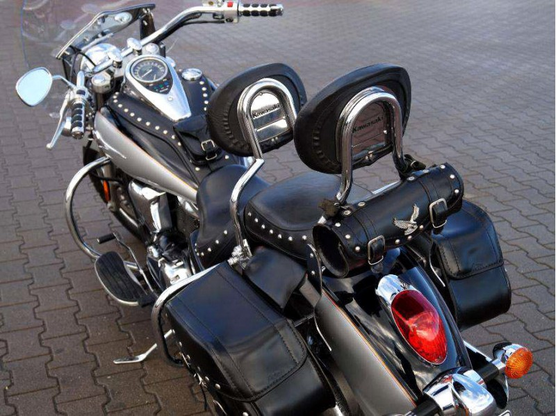kawasaki vulcan vn 900 custom classic lt rear crash. Black Bedroom Furniture Sets. Home Design Ideas