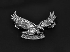 Kawasaki Eagle Motorcycle Badge