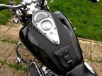 (P) HONDA VTX 1300 LEATHER TANK PANEL PLAIN