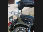 Passenger Sissy Bar Backrest with Rack Yamaha Midnight Star XVS 1300 & 1300A Vstar