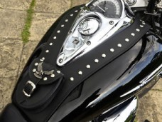 (Rs) HONDA  VTX 1300 LEATHER TANK PANEL