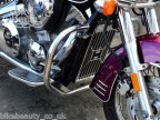 Honda Shadow VTX 1300 CUSTOM / RETRO Stainless Highway Crash Bar Engine Guard