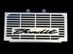 SUZUKI BANDIT GSF 1200 (01 - ) (oil cooler) STAINLESS STEEL RADIATOR COVER GRILL