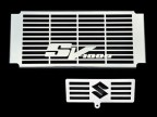 SUZUKI SV 1000 S / N 2003-08 STAINLESS STEEL RADIATOR COVER w/ OIL COOLER GRILL