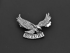 Suzuki Eagle Motorcycle Metal Badge